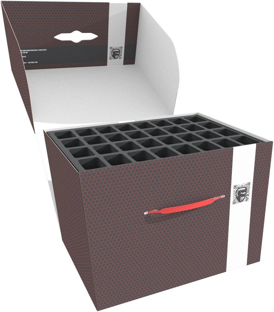 Feldherr Storage Box FSLB250 for tanks/monsters and 82 miniatures