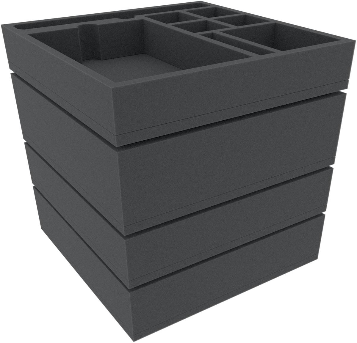 Feldherr Schaumstoff-Set für Sine Tempore: Black Hole – Brettspielbox