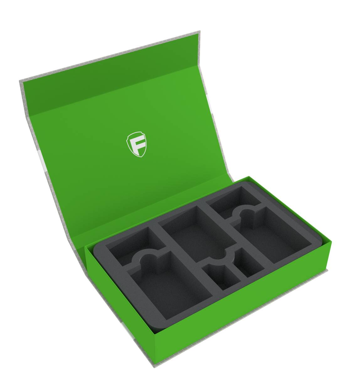 Feldherr Magnetbox grün für Legend of the Five Rings - Karten + Marker