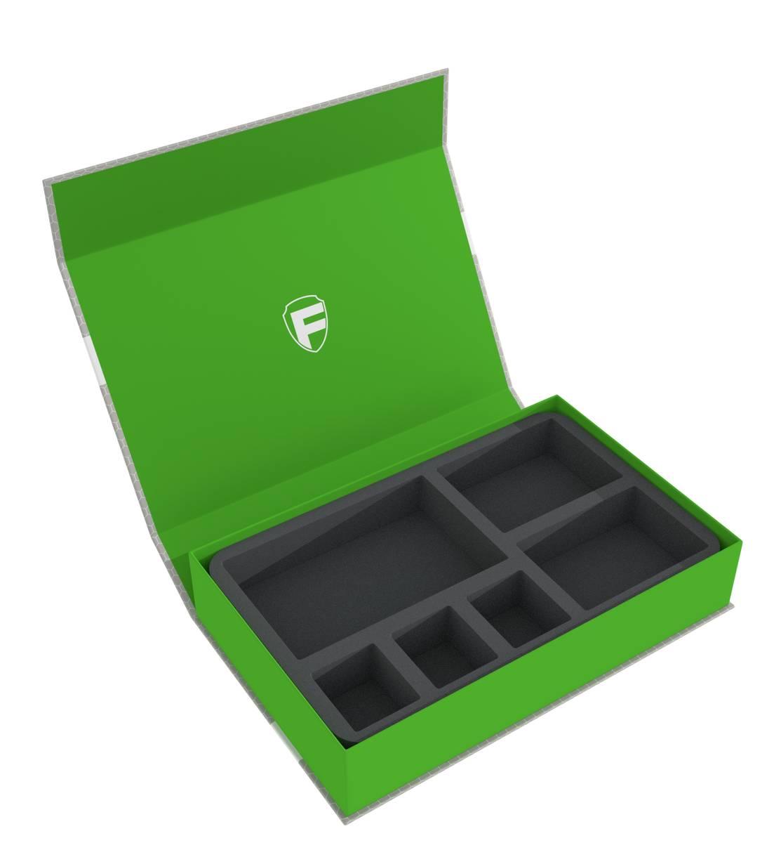 Feldherr Magnetbox grün für Tiny Epic: Mechs