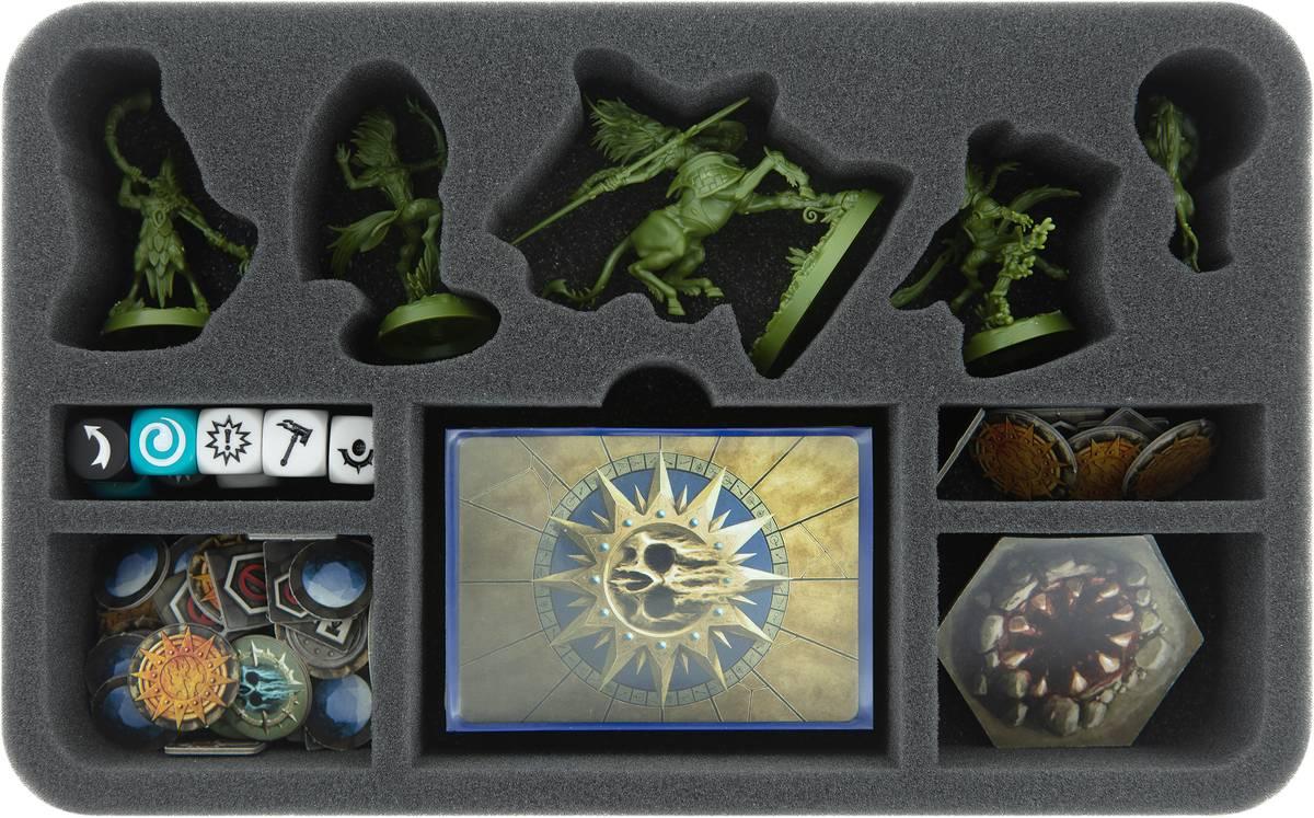 HSMERP050BO Feldherr Schaumstoffeinlage für Warhammer Underworlds: Beastgrave - Skaeths Wilde Jagd
