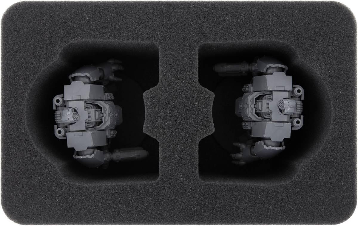 HSMECS130BO Feldherr Schaumstoffeinlage für Primaris Invictor Tactical Warsuit