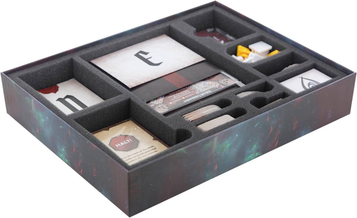Feldherr Schaumstoff-Set für Gloomhaven: Forgotten Circles – Brettspielbox
