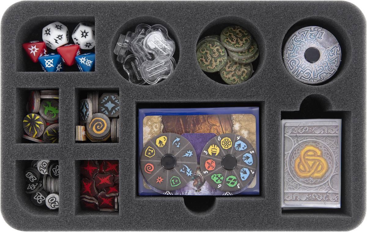 HS045A005 Feldherr plateau en mousse pour Runewars Miniatures Jeu - accessoires
