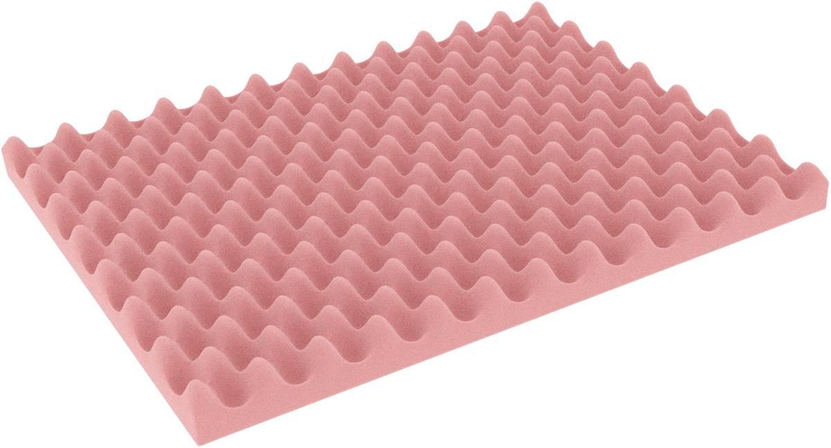 DFNP020ESD 338 mm x 238 mm x 20 mm ESD Noppenschaum Einlage – elektrostatisch ableitend