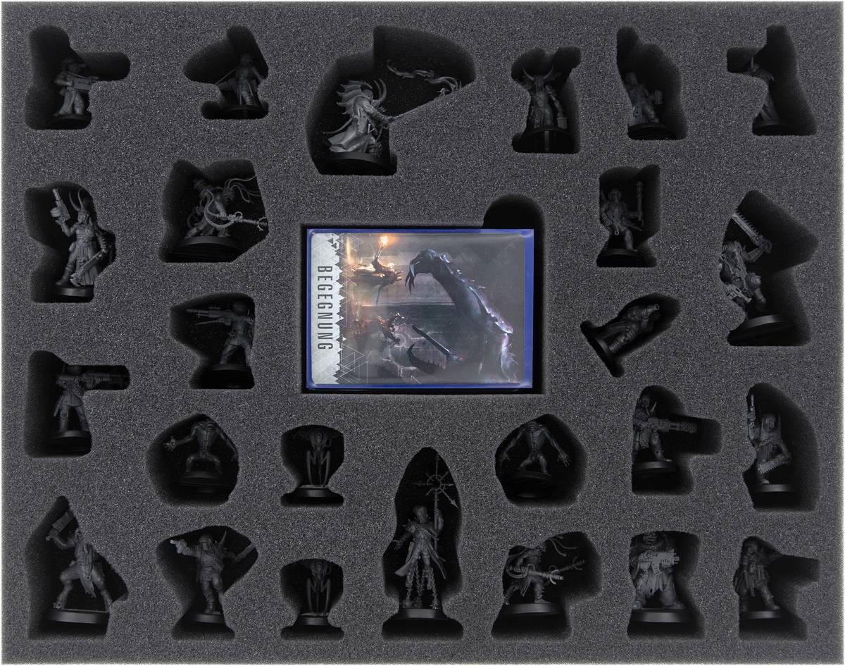 FSMESN045BO Feldherr Schaumstoffeinlage für Blackstone Fortress: Servants of the Abyss + Cultists of the Abyss