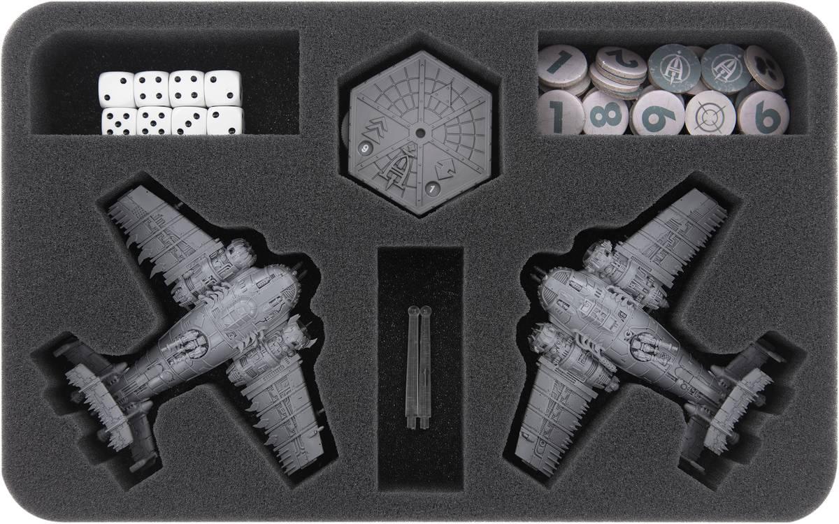 HSMESR040BO Feldherr Schaumstoffeinlage für Aeronautica Imperialis: Ork Luftwaaagh - Eavy Bommers