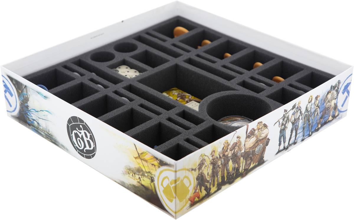 Feldherr Schaumstoff-Set für Guild Ball Anstoss! - Brettspielbox