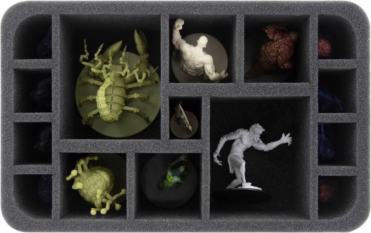 HS075A012 Feldherr Schaumstoffeinlage für Dungeons and Dragons - 15 Miniaturen