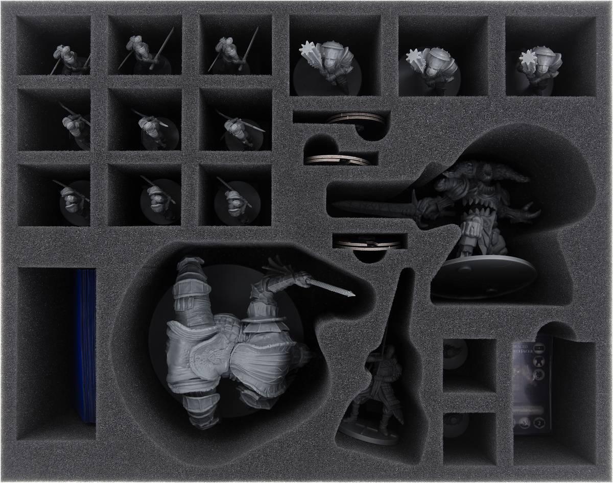 FSMETS100BO Feldherr Schaumstoffeinlage für Dark Souls: Vordt of the Boreal Valley + Iron Keep Erweiterung