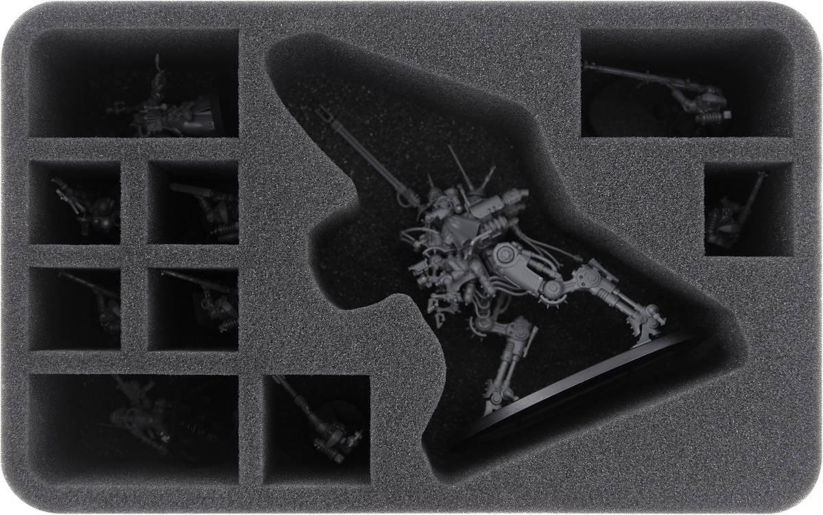 HSMETV080BO Feldherr Schaumstoffeinlage für Adeptus Mechanius: Ironstrider Ballistarius / Sydonian Dragoon