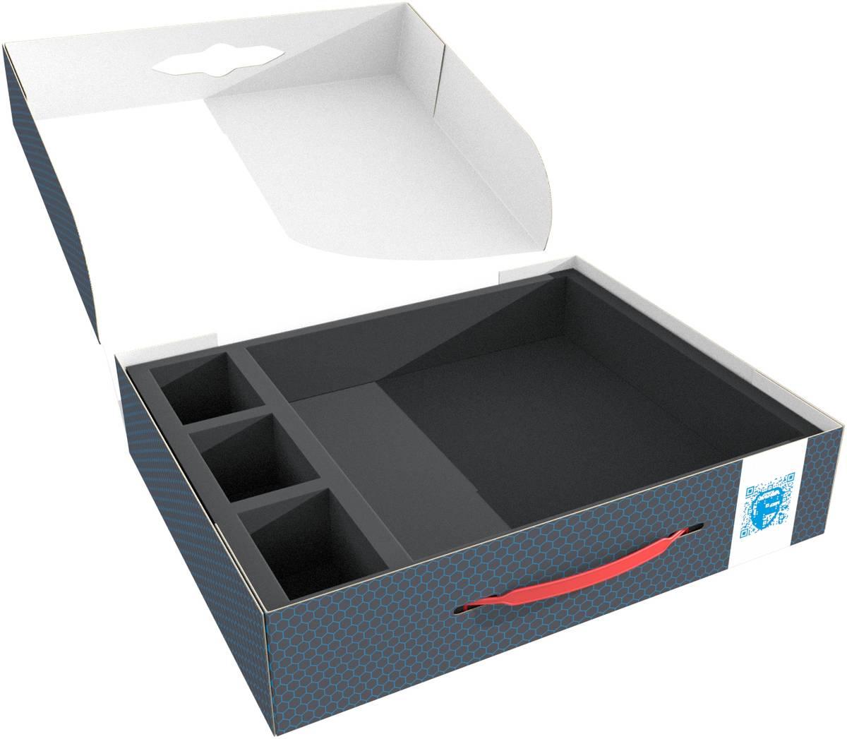 Feldherr Lagerbox FSLB075 für Zombicide - 20 Kartenteile