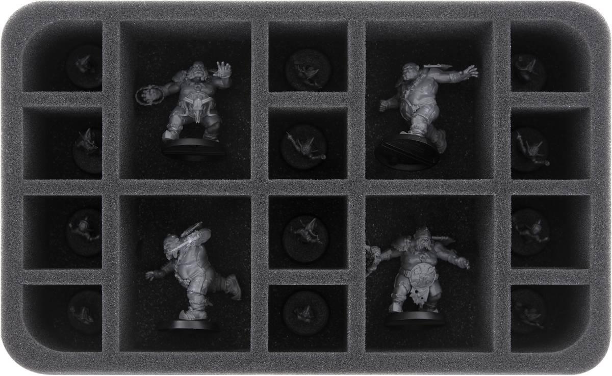 HS060A025 Feldherr Schaumstoffeinlage für Blood Bowl: Fire Mountain Gut Busters