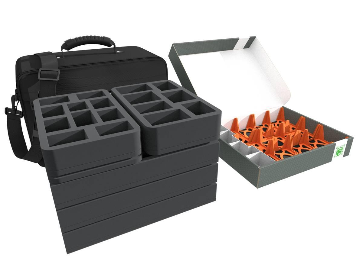 Feldherr MAXI PLUS Tasche + Lagerbox FSLB055 Bundle für Marvel United - Kickstarter Komplett-Set