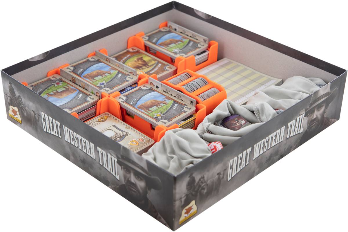 Feldherr Organizer for Great Western Trail - board game box