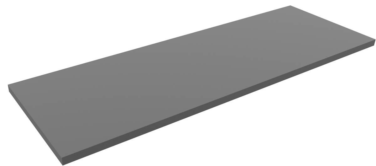 1500 mm x 500 mm x 30 mm PE-Schaumstoffzuschnitt / Hartschaumstoff-Zuschnitt