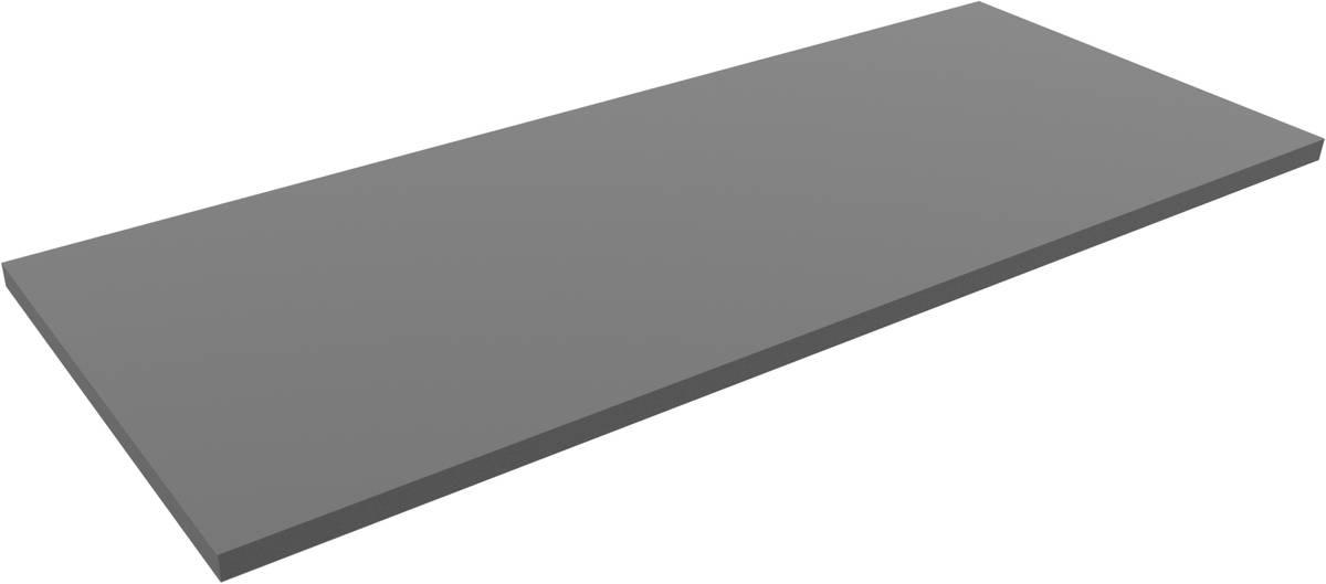 1500 mm x 590 mm x 30 mm PE-Schaumstoffzuschnitt / Hartschaumstoff-Zuschnitt