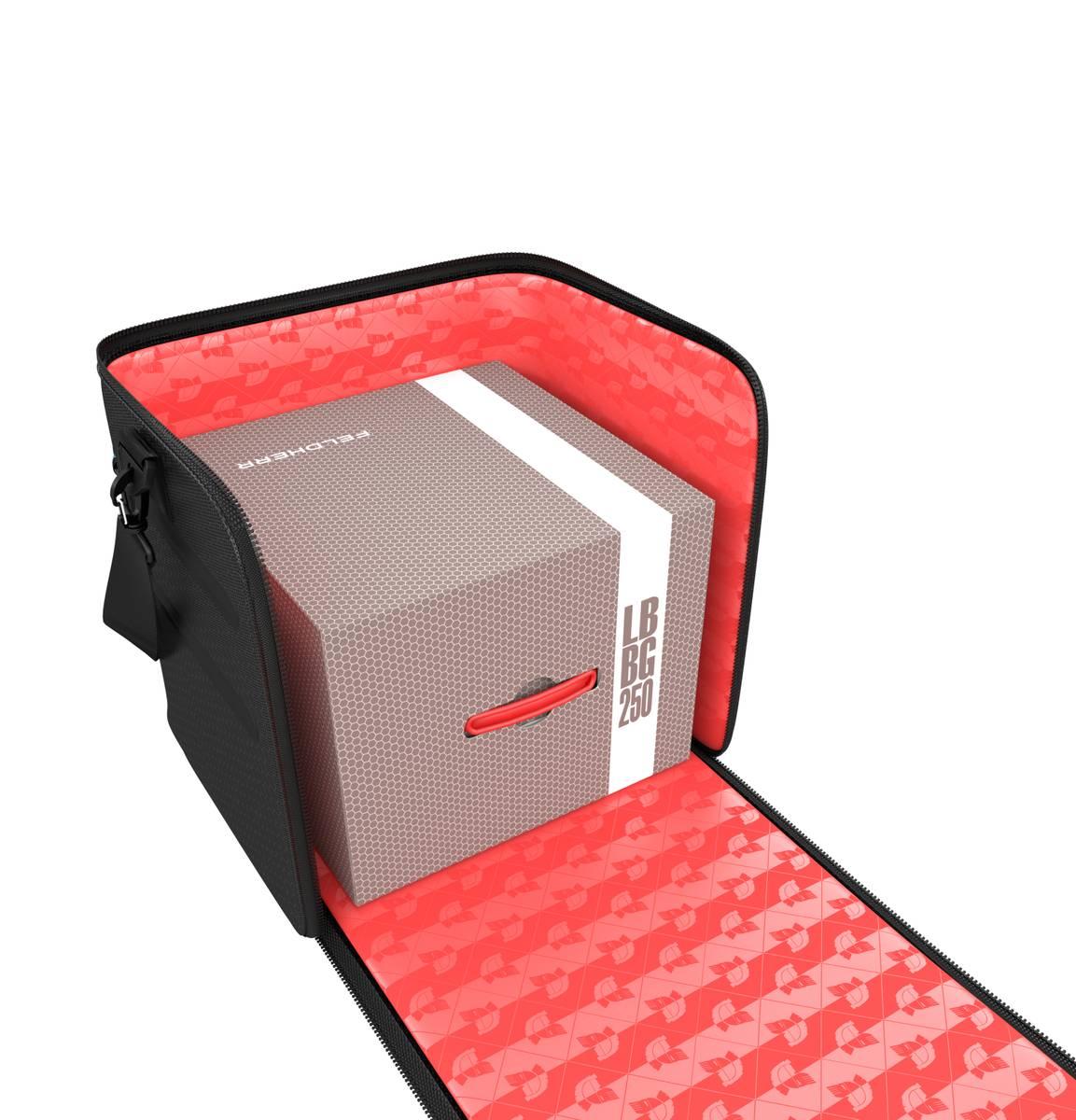 Feldherr GENERAL 370 Tasche + Lagerbox LBBG250 - leer - im Set