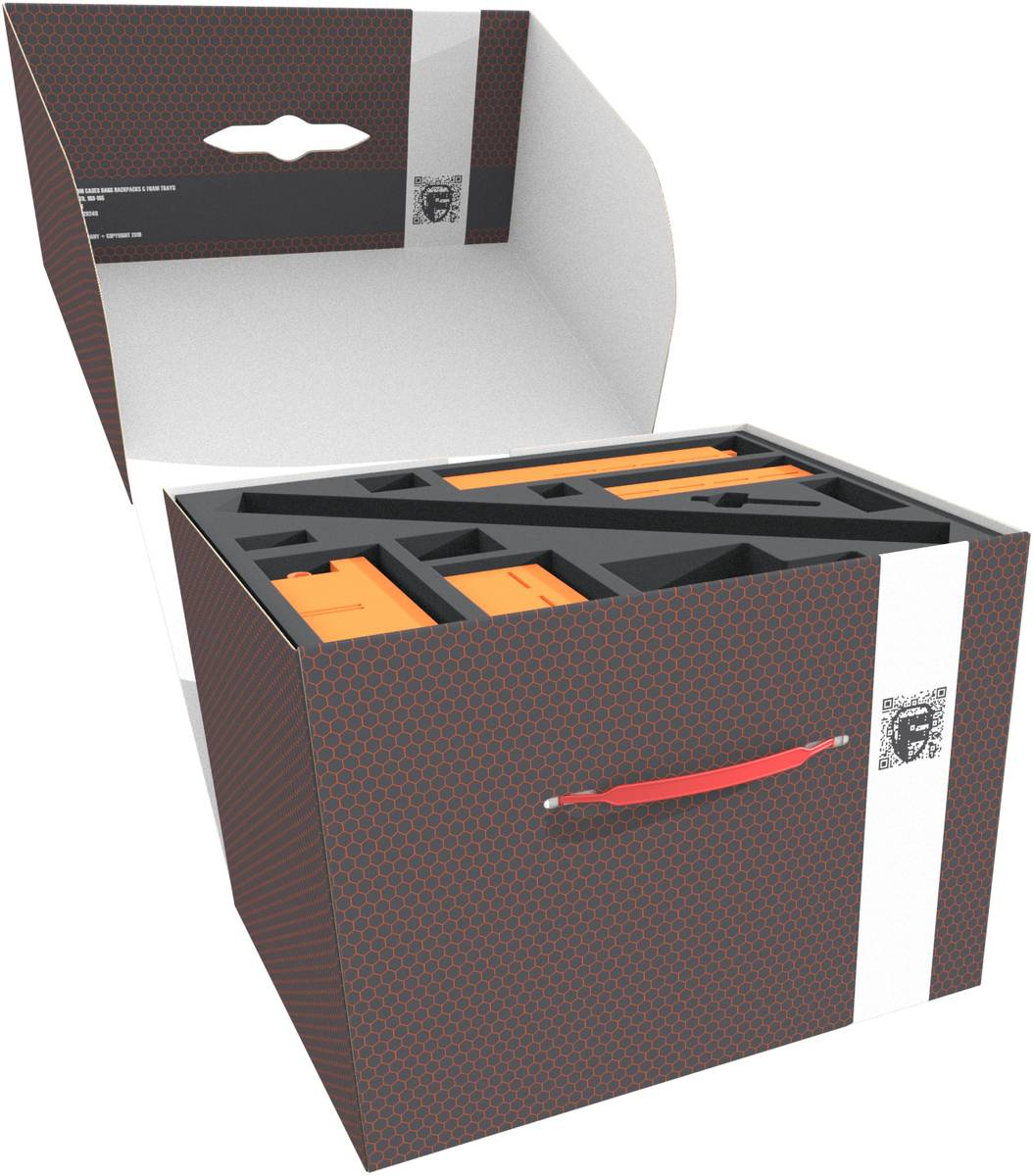 Feldherr Storage Box FSLB250 with Token Holder Set for U-BOOT The Board Game