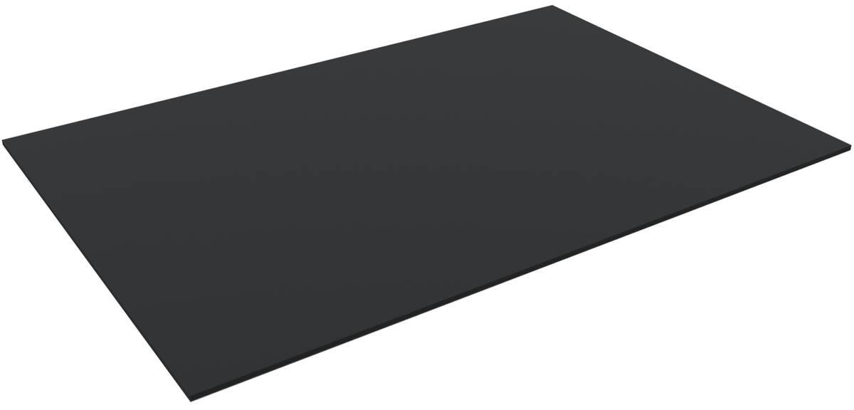1200 mm x 800 mm x 10 mm PE-Schaumstoffzuschnitt / Hartschaumstoff-Zuschnitt - Grundfläche einer Europalette