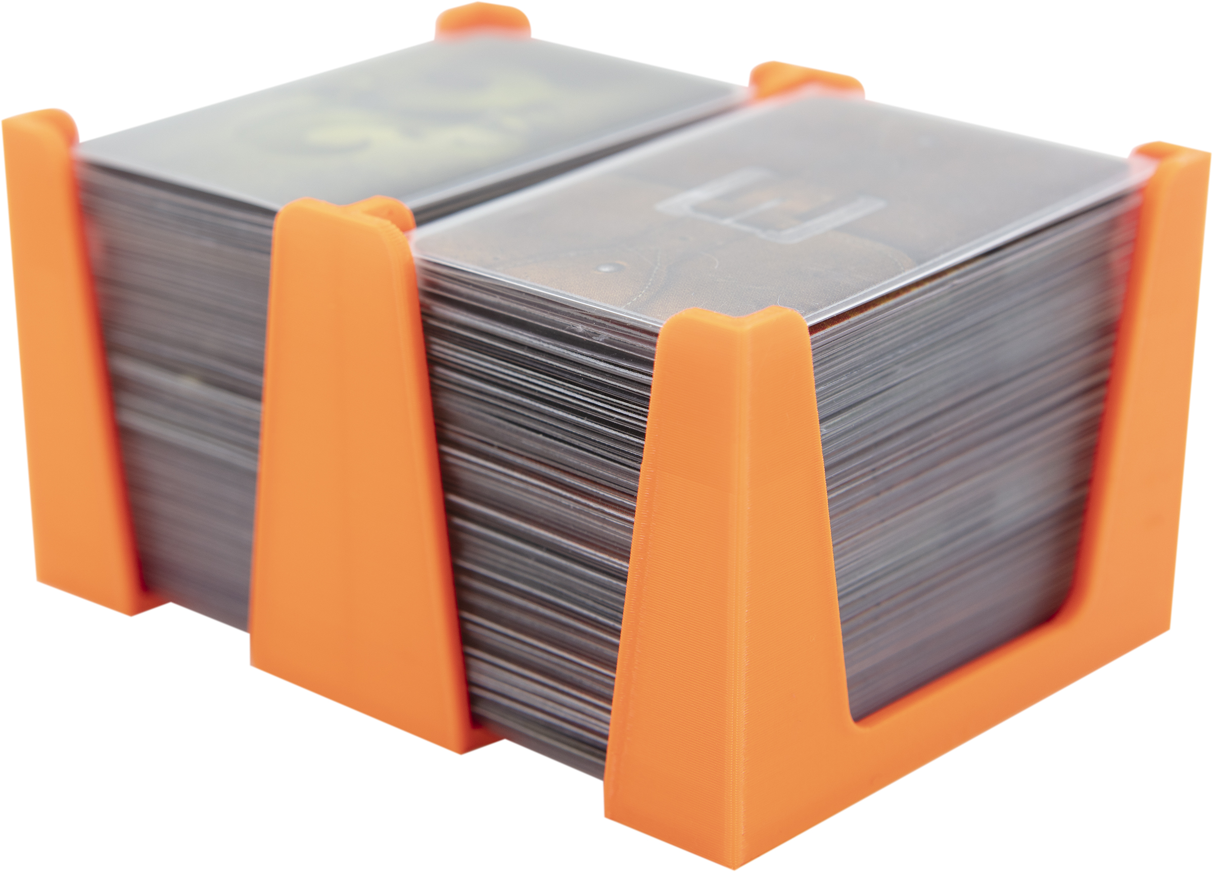 Feldherr Card Holder for game cards in Mini American Board Game Size - 300 cards - 2 trays