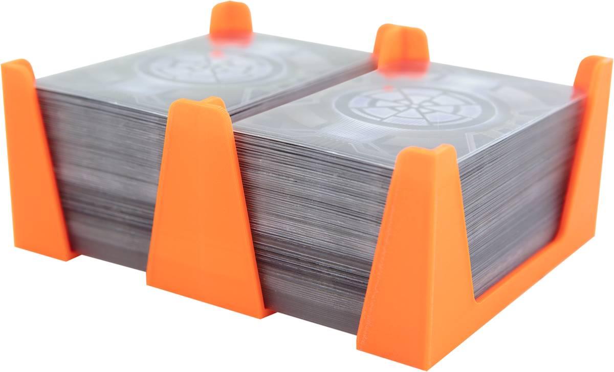 Feldherr Kartenhalter für Spielkarten in Standard American Board Game Size - 300 Karten - 2 Fächer