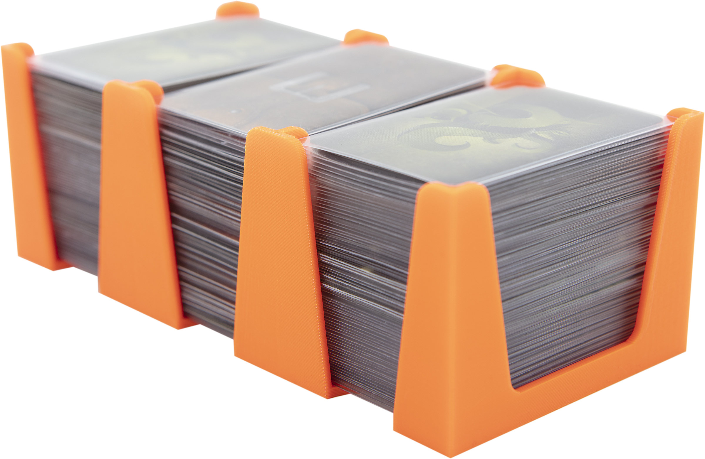 Feldherr Card Holder for game cards in Mini American Board Game Size - 450 cards - 3 trays