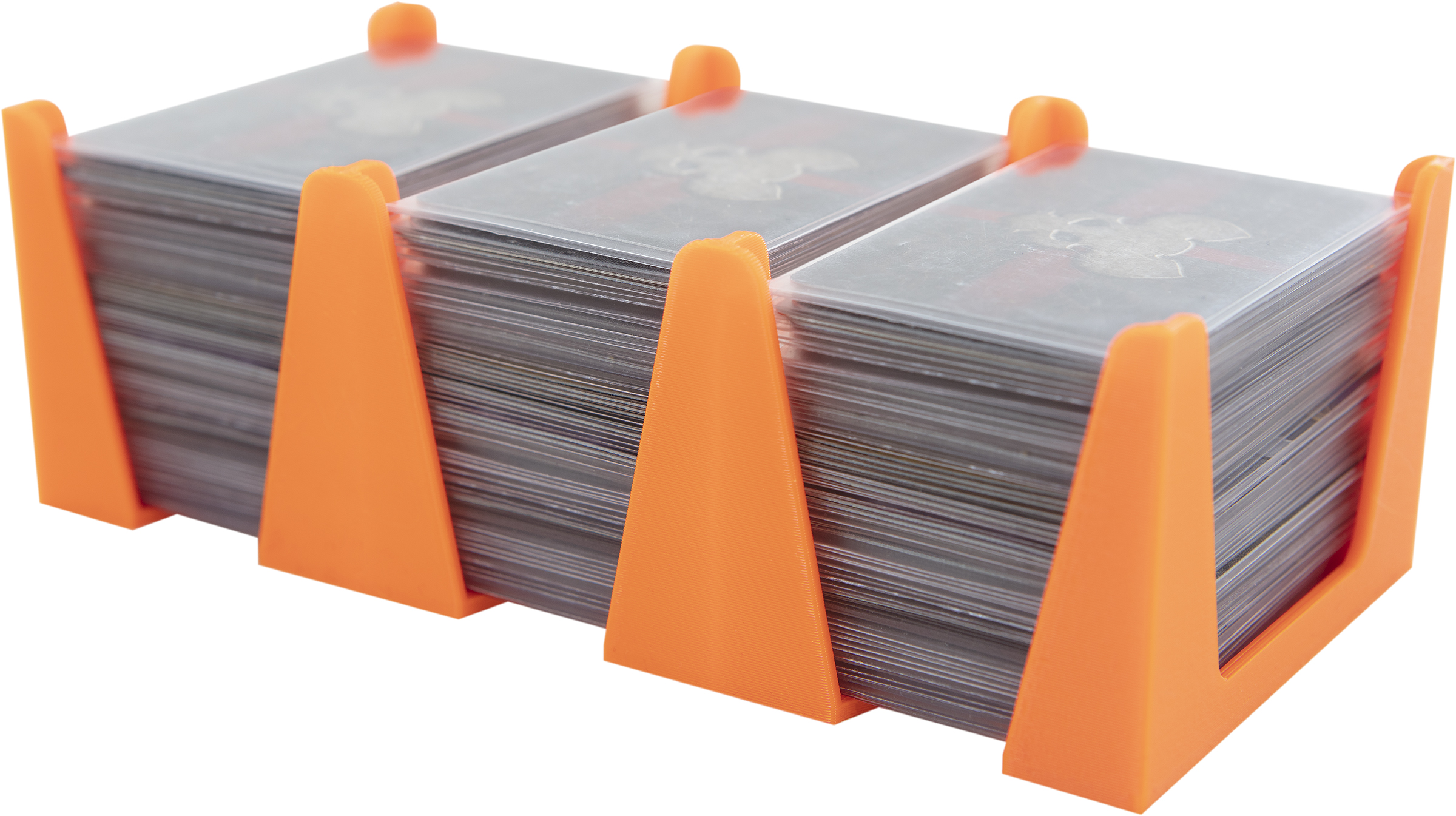 Feldherr Card Holder for game cards in Mini European Board Game Size - 450 cards - 3 trays