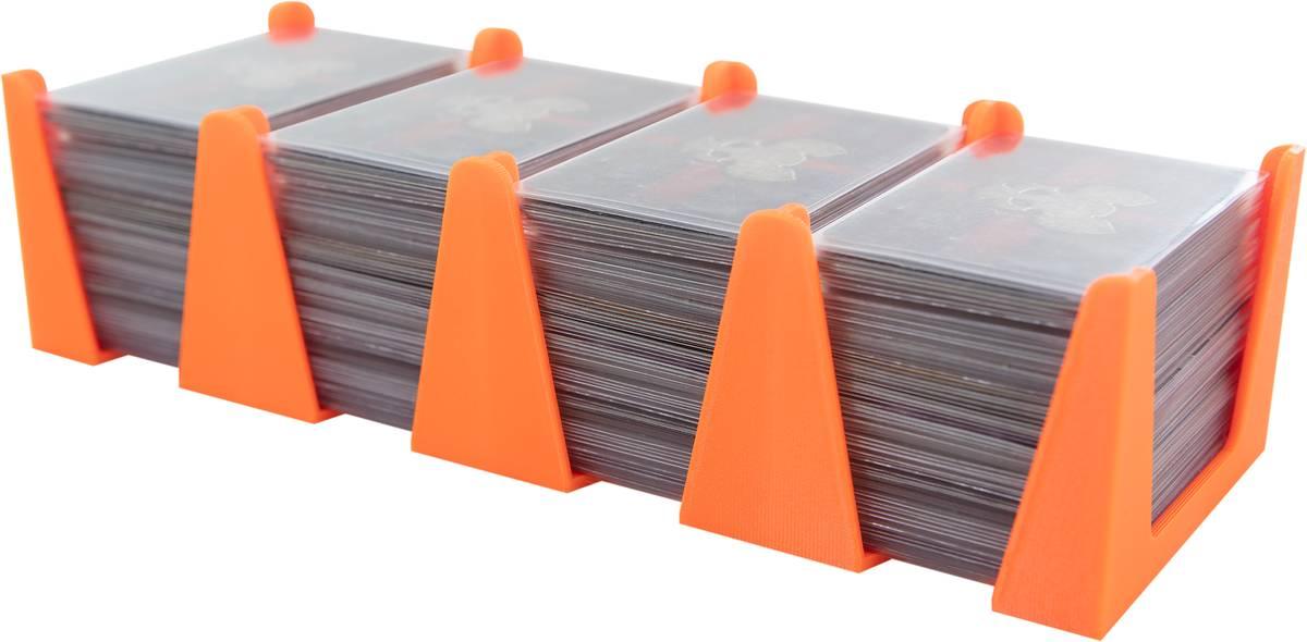 Feldherr Kartenhalter für Spielkarten in Mini European Board Game Size - 600 Karten - 4 Fächer