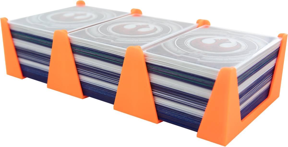 Feldherr Kartenhalter für Spielkarten in Standard Card Game Size - 450 Karten - 3 Fächer