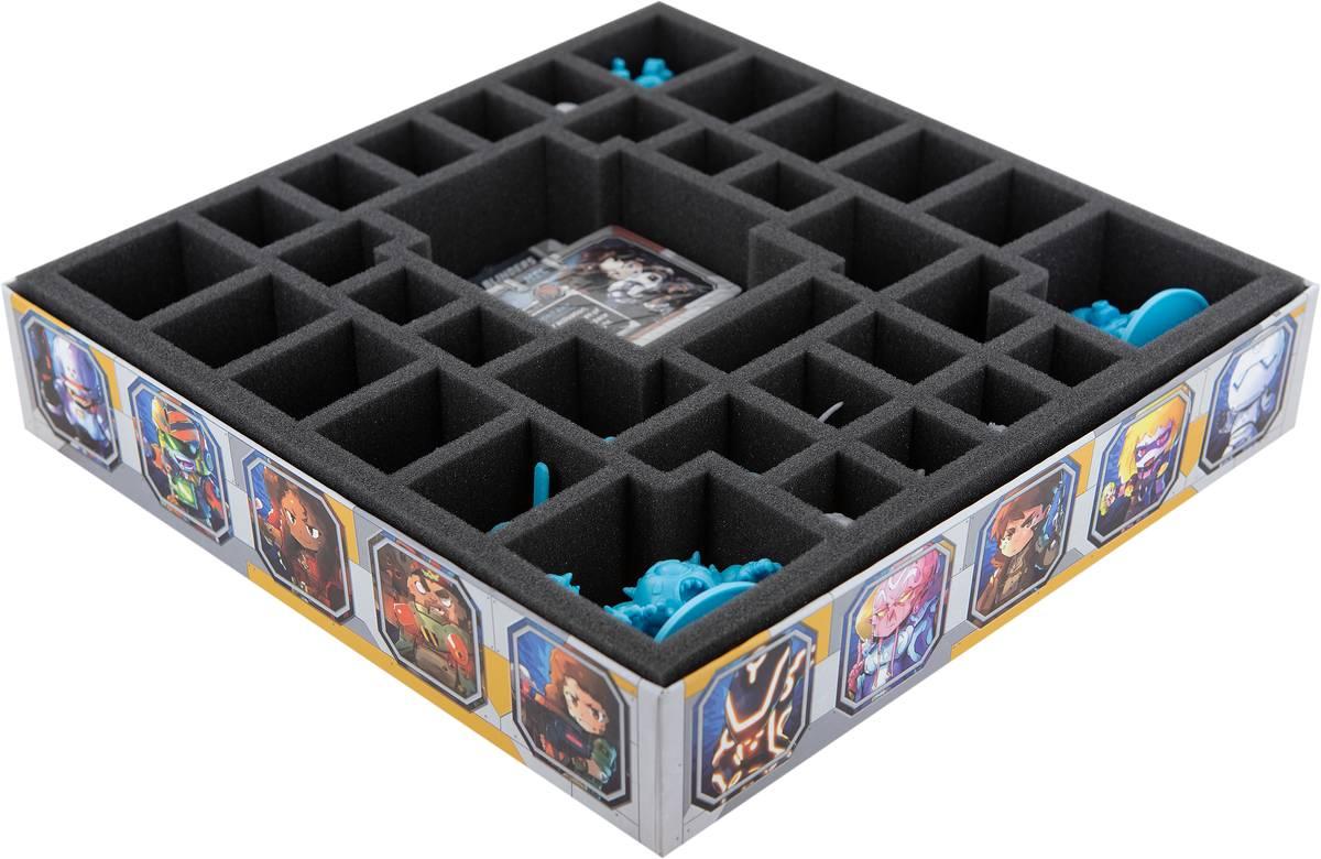 Feldherr Schaumstoff-Set für Starcadia Quest - Space Marauders Box