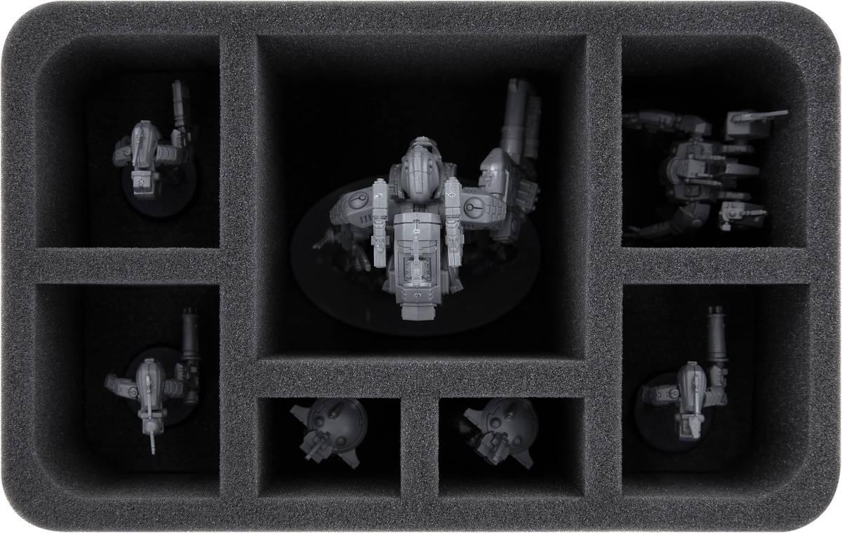 HS120A007 Feldherr Schaumstoffeinlage für XV95 Ghostkeel Battlesuit