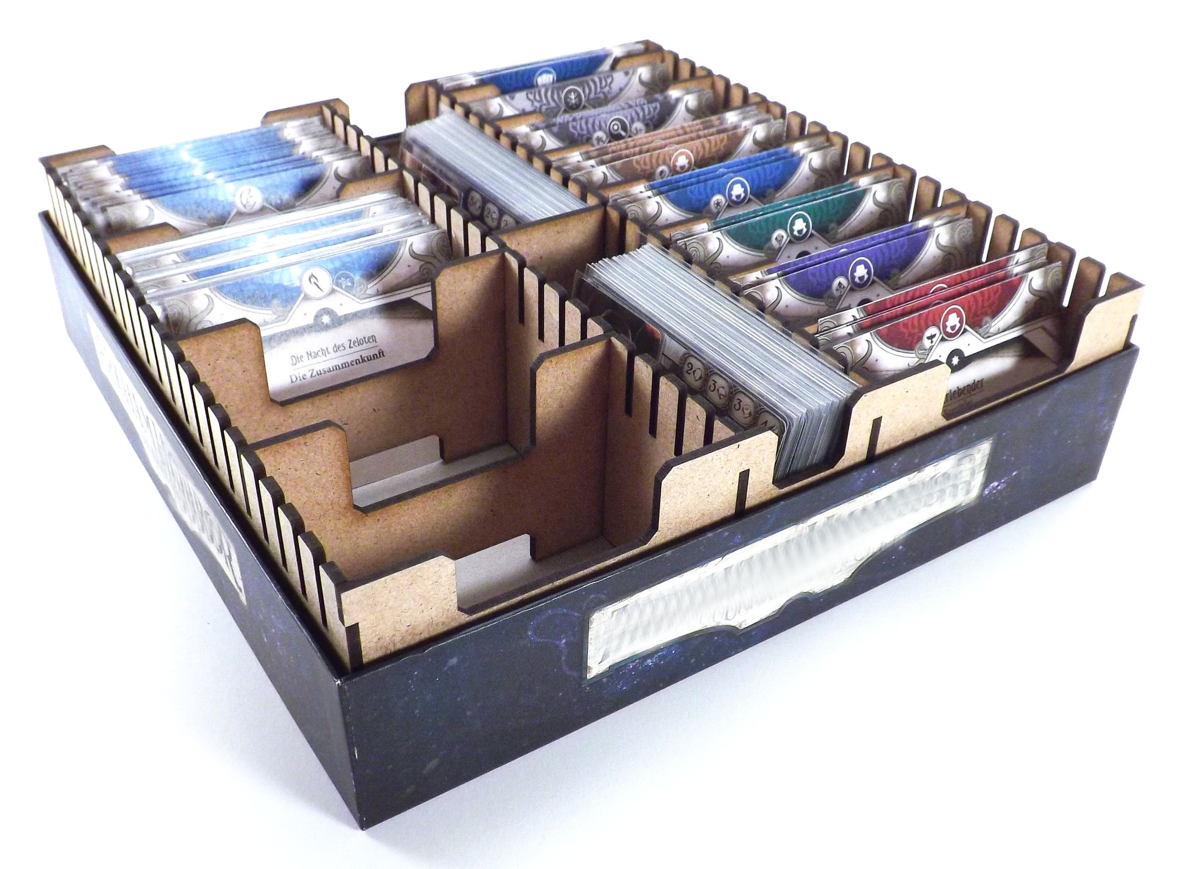 CAMI Universal sorter for trading card games in small playing boxes 245 mm x 245 mm  CAMI universal sorter for trading card games in small cardboard boxes 245 mm x 245 mm