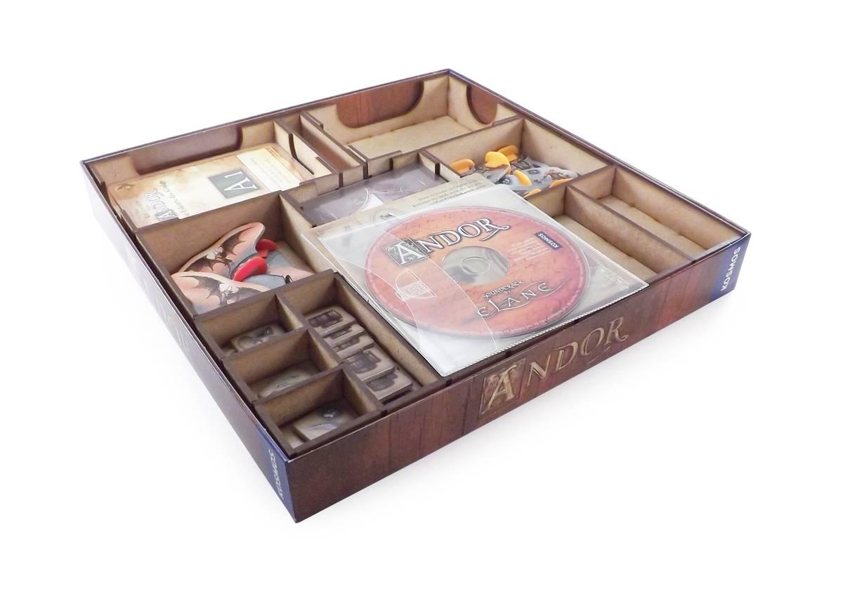 Brettspiel Organizer für Die Legenden von Andor: Die Bonus-Box