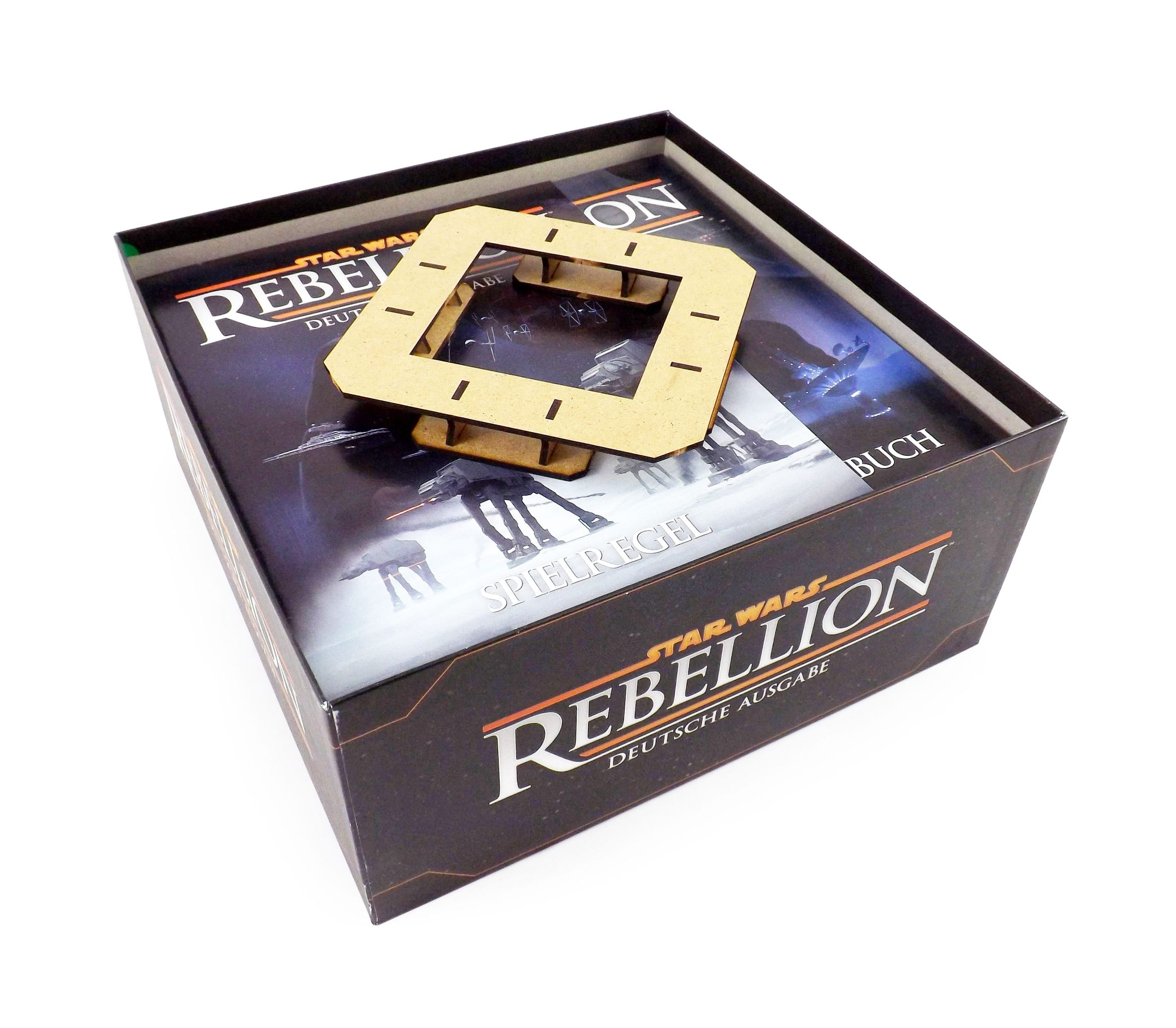 Boardgame Organizer for Star Wars: Rebellion and expansion Rise of the Empire