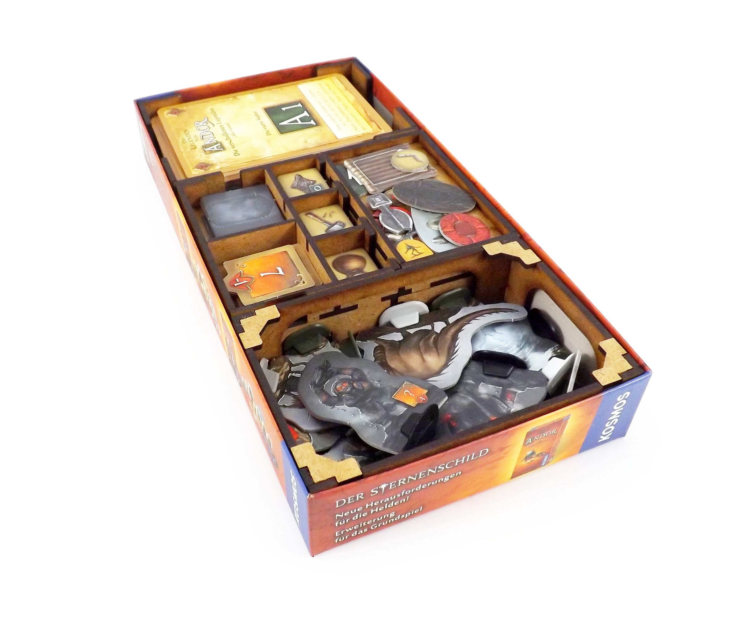 Boardgame Organizer for Legends of Andor Lost Legends: Ancient Spirits