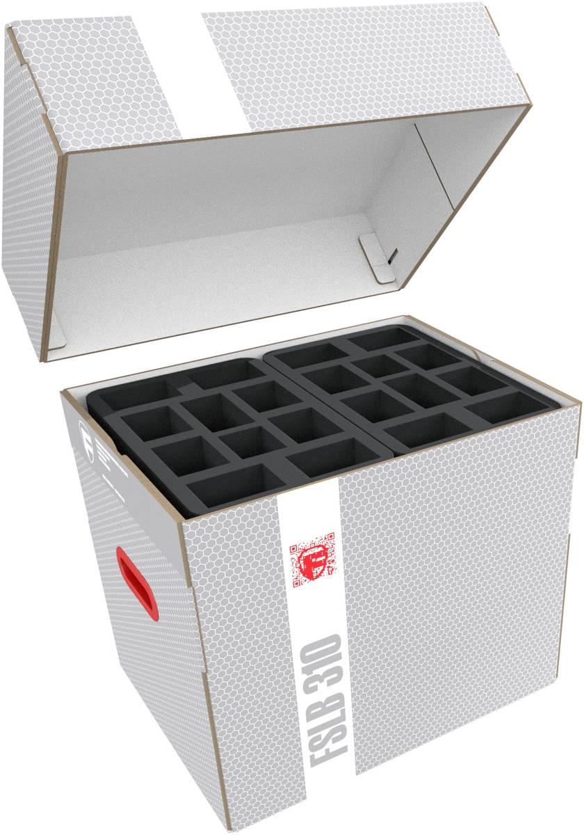 Feldherr Lagerbox FSLB310 für 107 Miniaturen auf 40 mm Bases