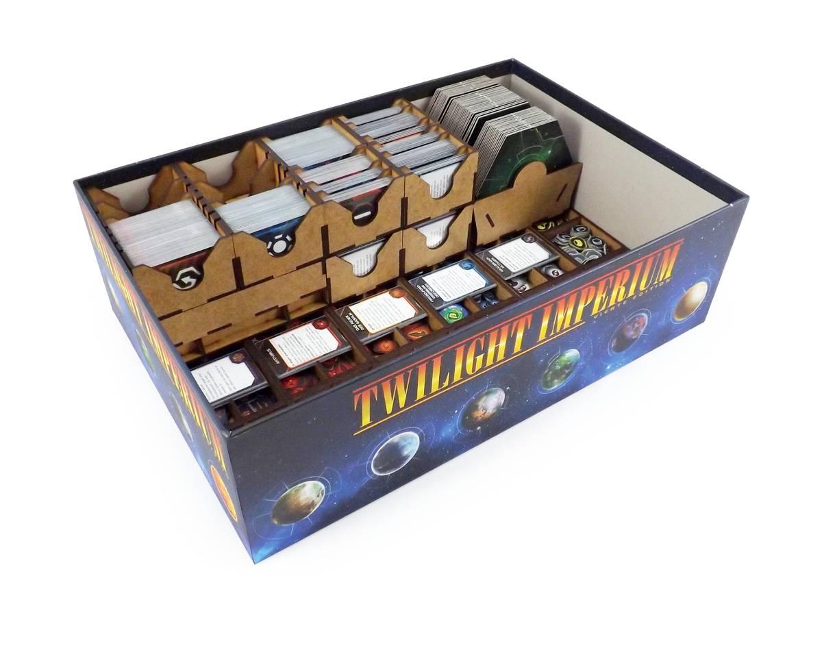 Brettspiel Organizer für Twilight Imperium 4