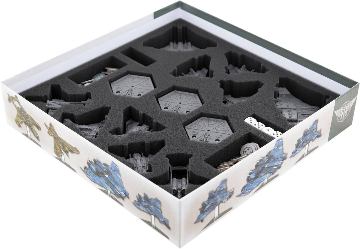 Feldherr Schaumstoff-Set für Aeronautica Imperialis: Skies of Fire - Brettspielbox