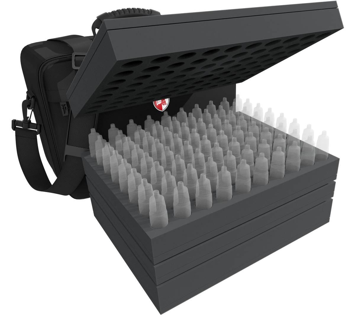 Feldherr MAXI Tasche für Farbfläschchen + Werkzeuge + Miniaturen