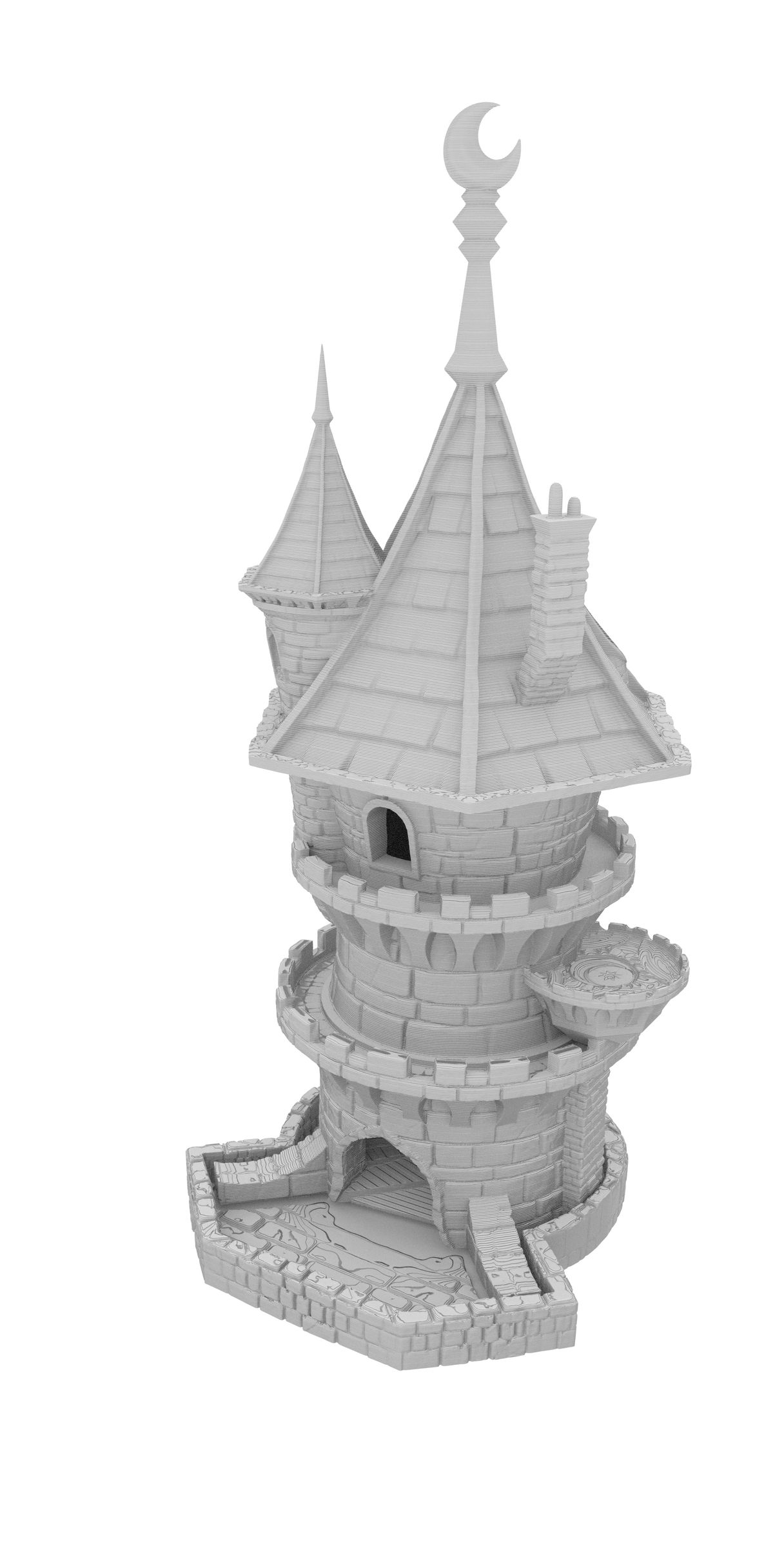 Fates End Dice Tower: Wizard