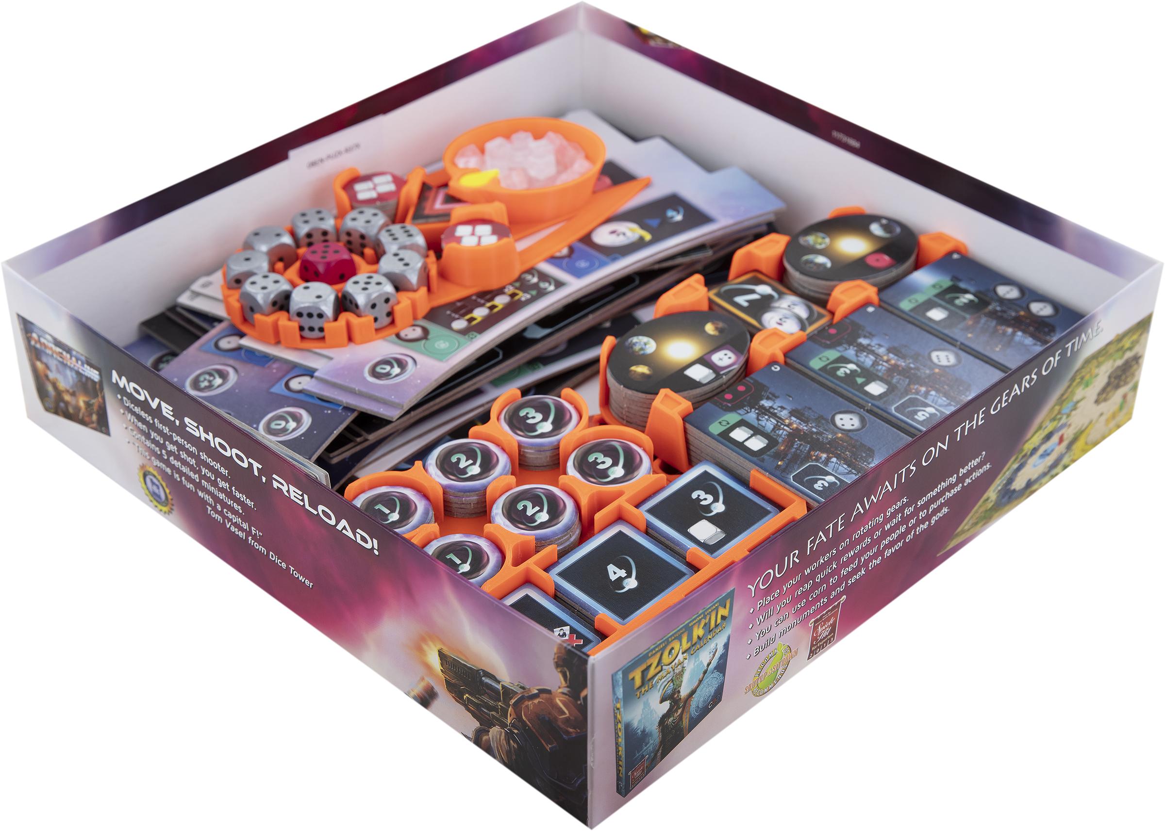 Feldherr Organizer for Pulsar 2849 - board game box