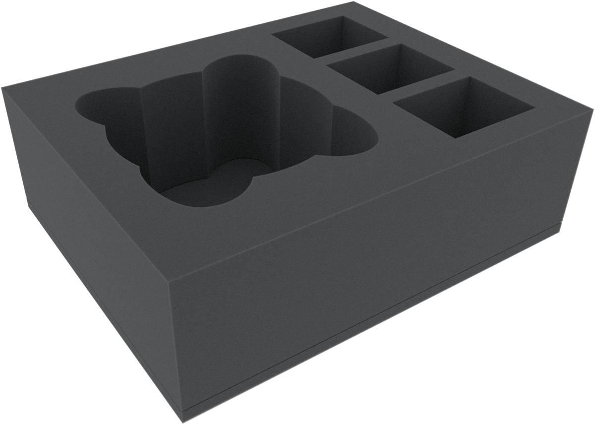 FSMEYE110BO 110 mm Full-Size Schaumstoffeinlage mit 4 Fächern