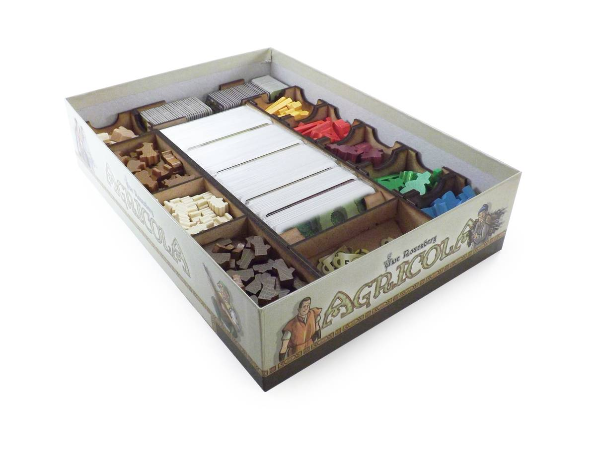 Boardgame Organizer compatible with Agricola (Revised Edition)