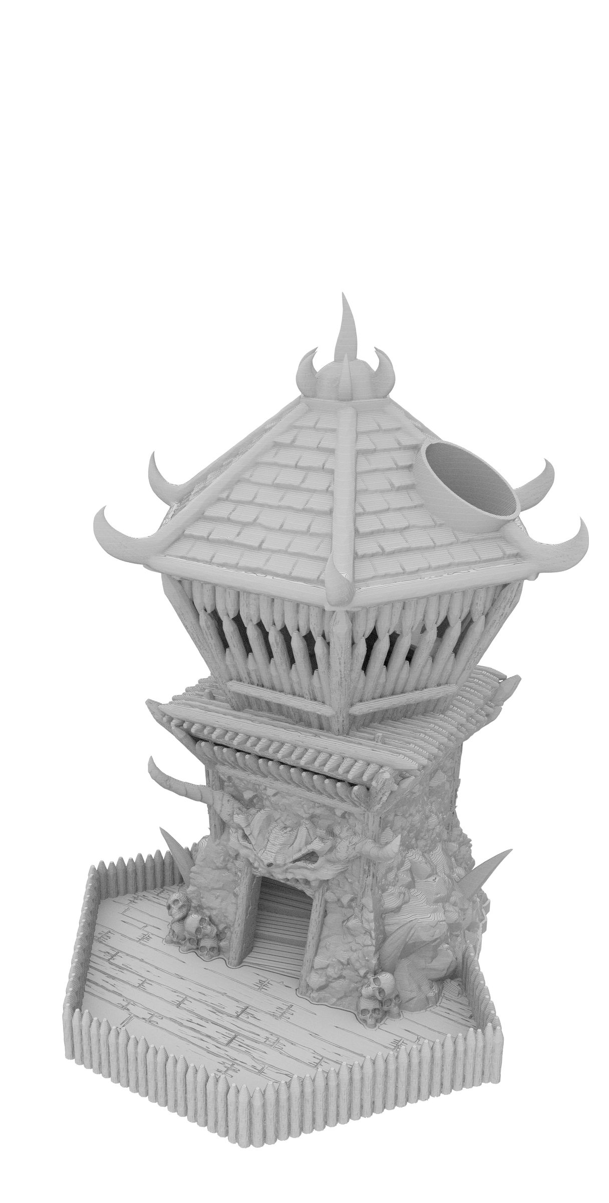 Fates End Dice Tower: Barbarian