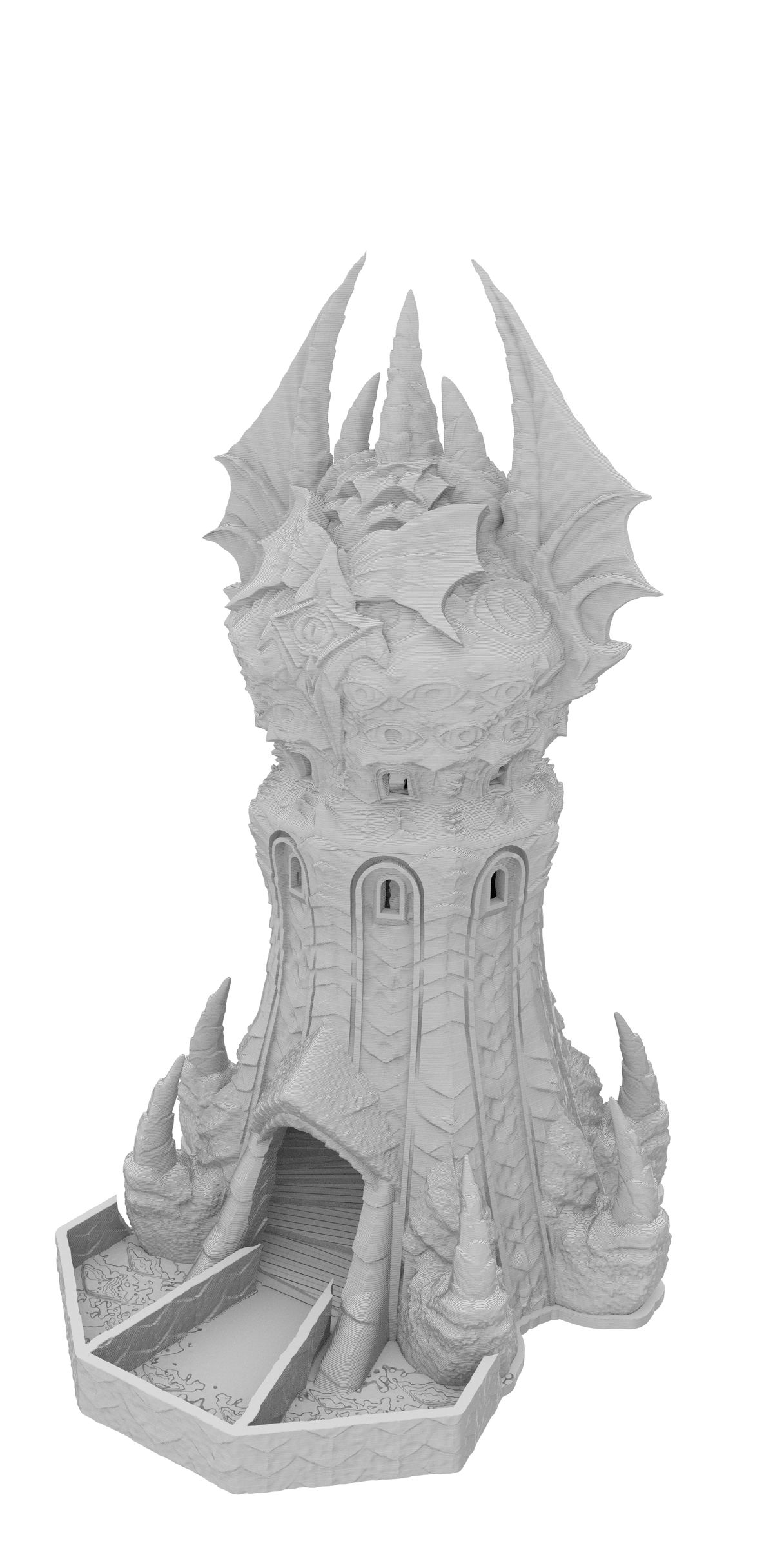 Fates End Dice Tower: Warlock