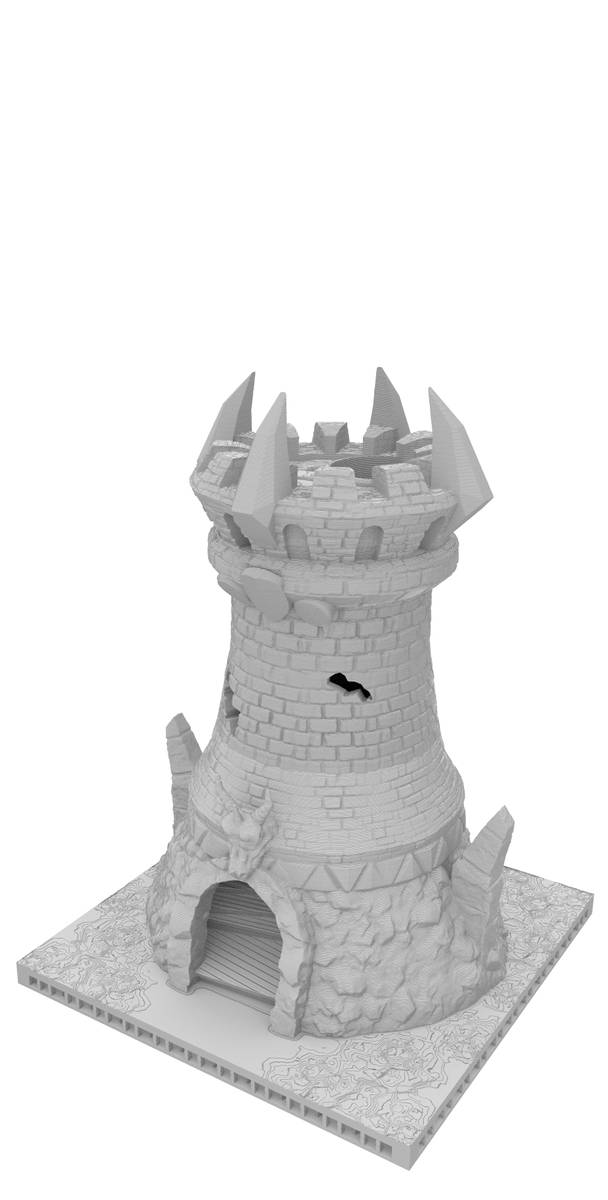 Fates End Dice Tower: Fighter