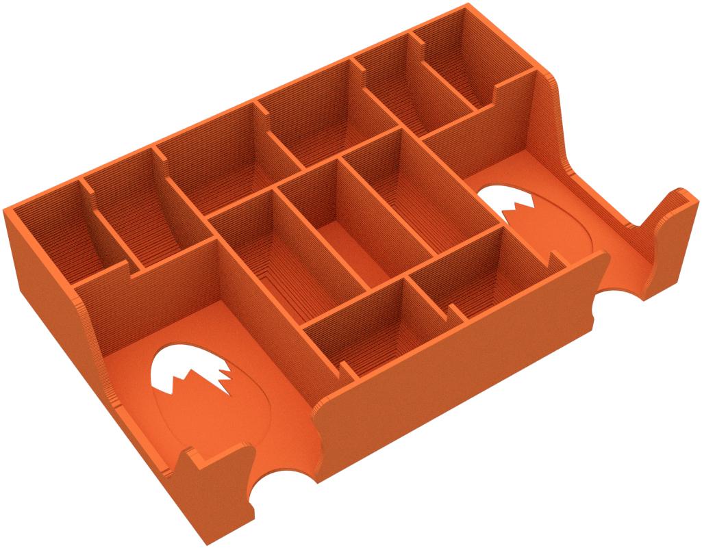 Feldherr Organizer for Tiny Epic Dinosaurs - board game box