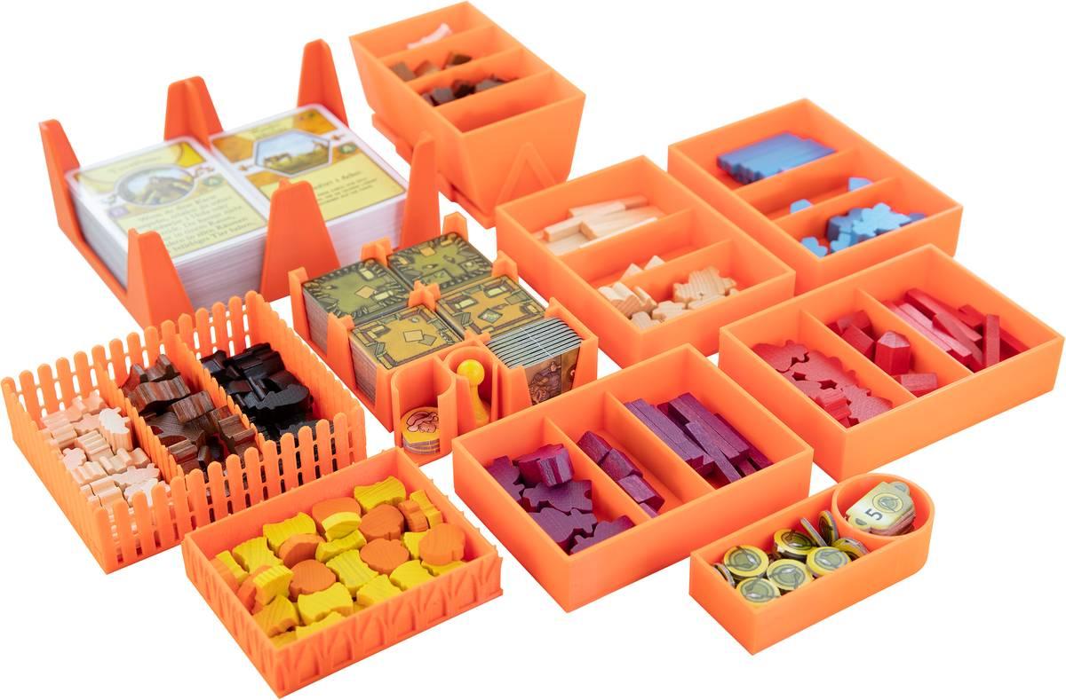 Feldherr Organizer for Agricola (2016) - board game box