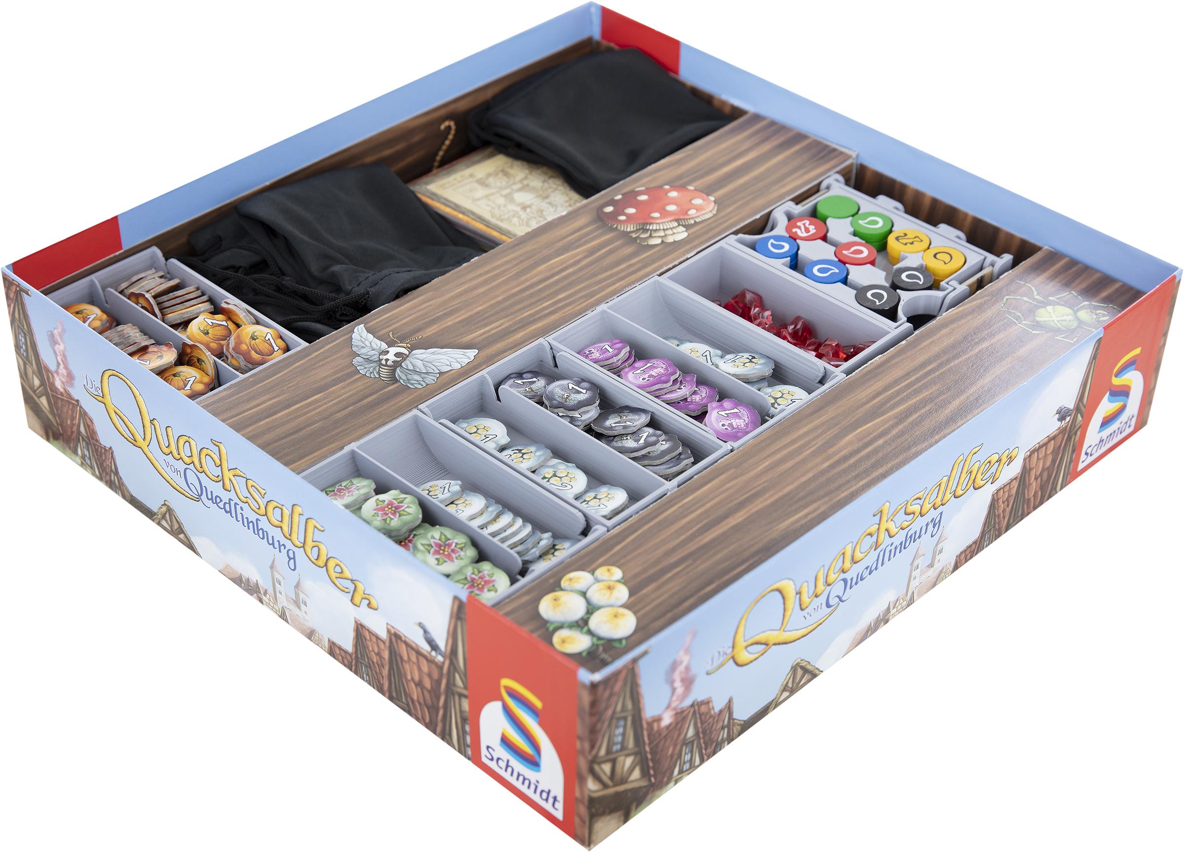 Feldherr Organizer for The Quacks of Quedlinburg - board game box